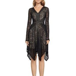 BCBGMaxAzria Black Lace Cocktail Dress - NWT